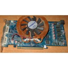 Глючная видеокарта 512Mb DDR3 nVidia GeForce 9800GT Gigabyte GV-N98TZL-512H PCI-E (Черкесск)