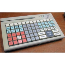 POS-клавиатура HENG YU S78A PS/2 белая (без кабеля!) - Черкесск