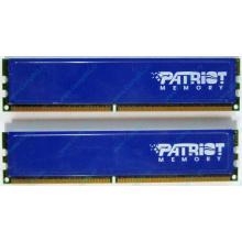 Память 1Gb (2x512Mb) DDR2 Patriot PSD251253381H pc4200 533MHz (Черкесск)